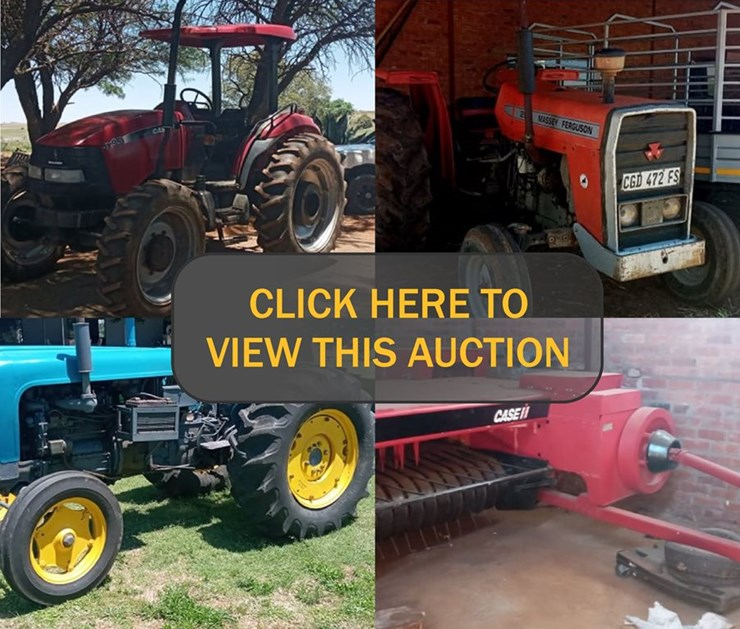 AGRI, CARS & MISCELLANEOUS ONLINE AUCTION VARIOUS INSTRUCTIONS