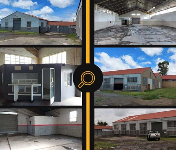 INDUSTRIAL PROPERTY ONLINE & ON-SITE AUCTION - BLOEMFONTEIN CENTRAL