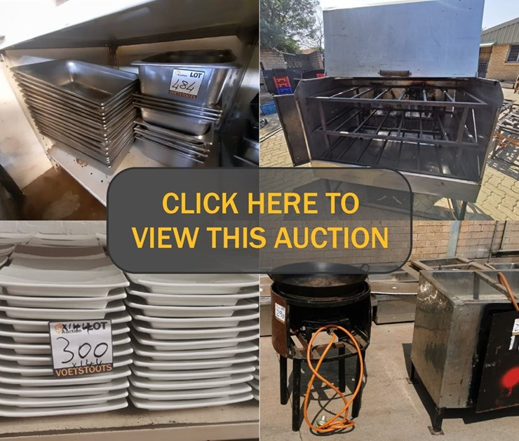DAY 2 - MASSIVE CATERING DIVISION CLOSURE ONLINE AUCTION: UNION CATERERS