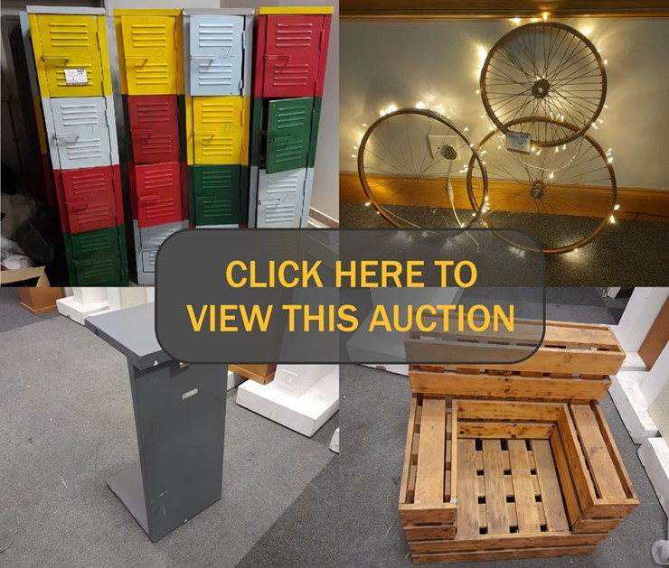 DAY 1 - EVENTS, DECOR & ACCESSORIES CLEARANCE ONLINE AUCTION (DIVISION CLOSURE)
