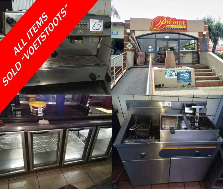 THE PROMISE GRILL CLOSURE / IMMIGRATION ONLINE AUCTION