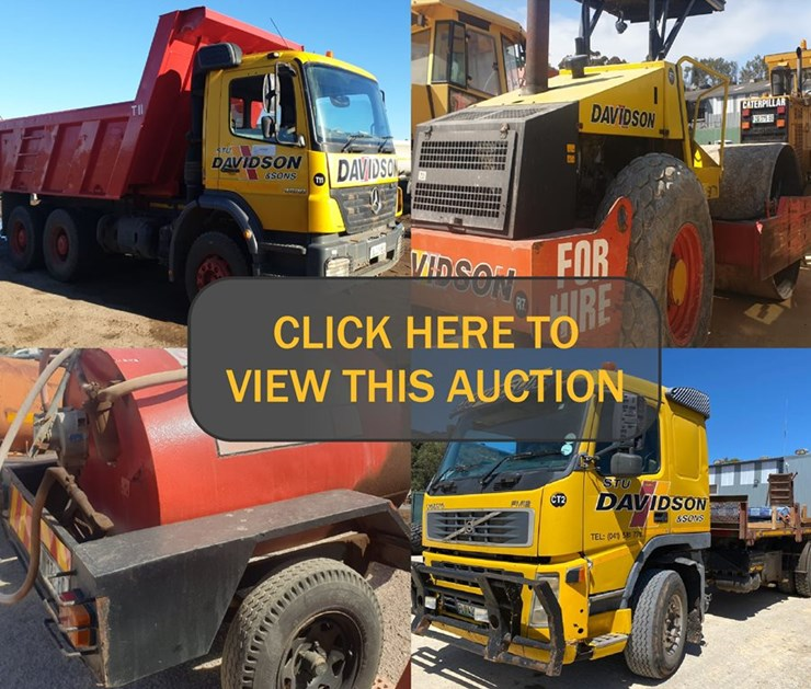 NATIONAL CONSTRUCTION & MINING ONLINE AUCTION (VARIOUS INSTRUCTIONS)